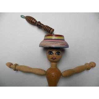 Marionnette artisanale Dame