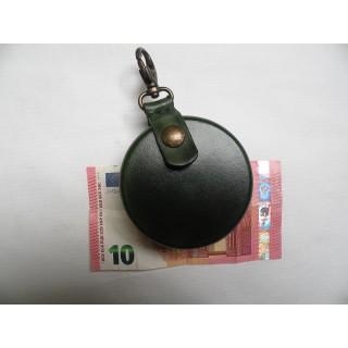 Bourse, porte-monnaie vert...