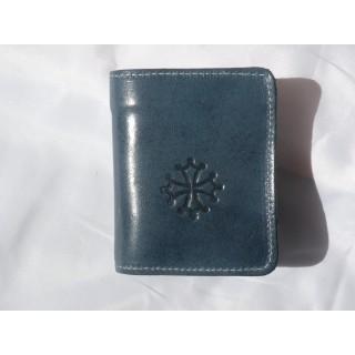 Porte-monnaie Gaston Bleu