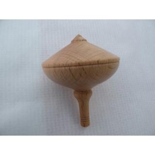 Toupie en bois de Hêtre